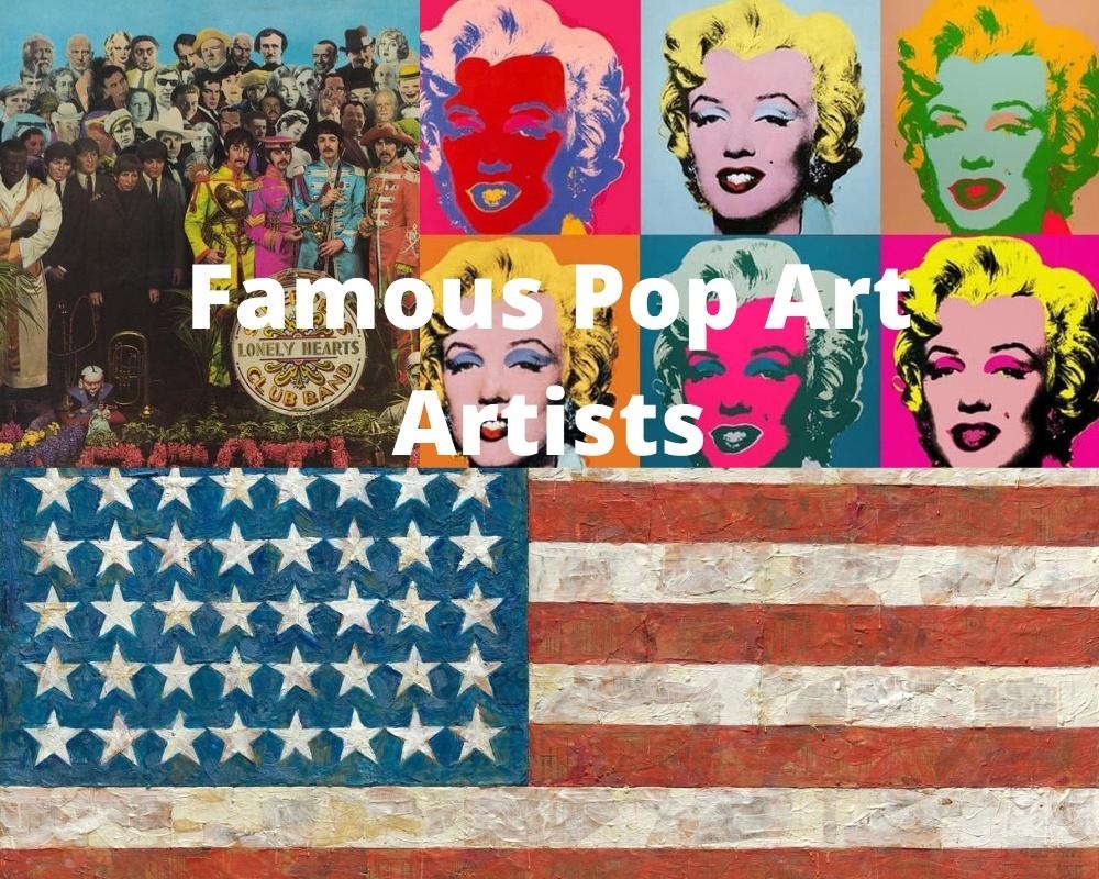 10 artistas famosos del arte pop 1