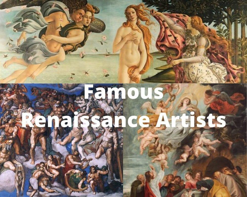 10 artistas renacentistas más famosos 1