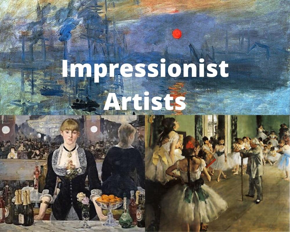 7 famosos artistas y pinturas impresionistas 1