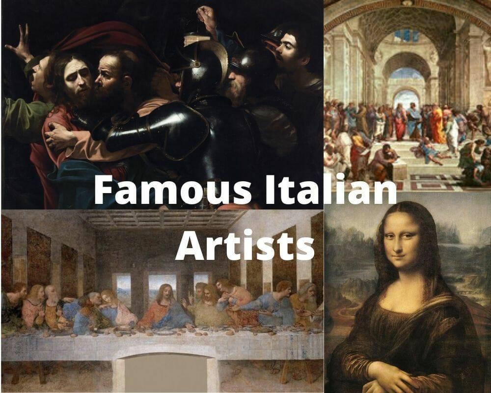 Diez artistas y pintores italianos más famosos 1