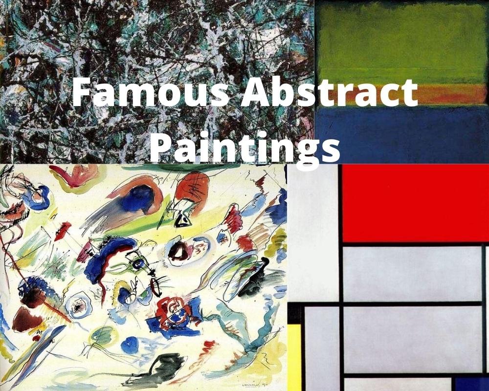 10 pinturas y obras de arte abstractas más famosas 1