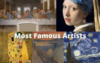 Artistas y pintores más famosos de todos los tiempos 2