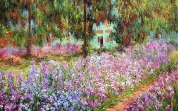 El jardín del artista en Giverny - Claude Monet 10