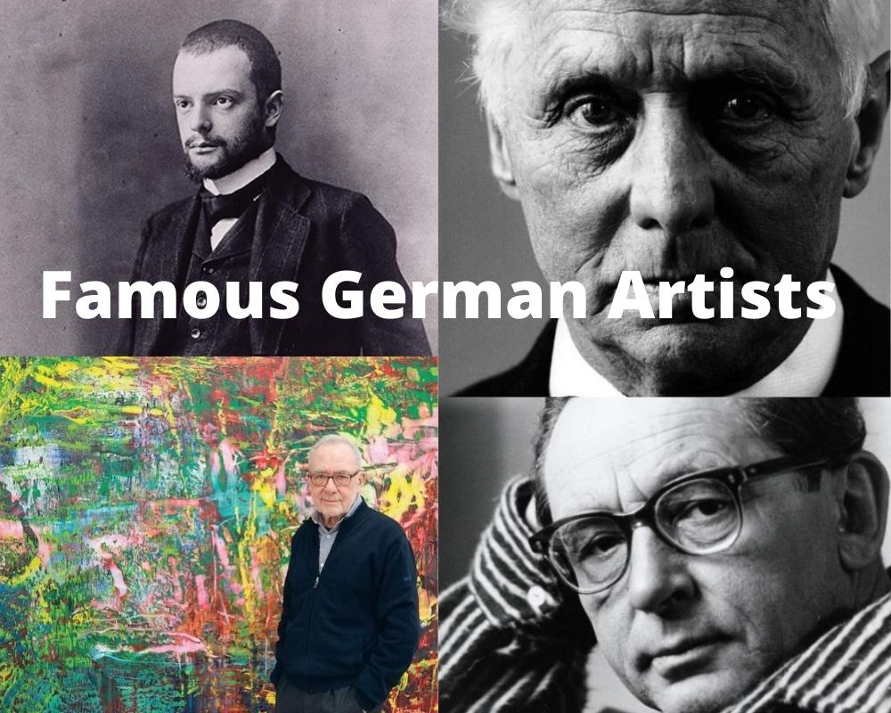 Artistas alemanes famosos 1