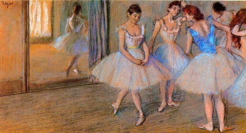 Biografía de Edgar Degas 1