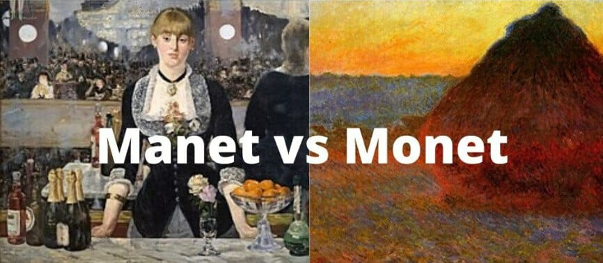 Manet vs Monet - ¿Cómo diferenciarlos? 1