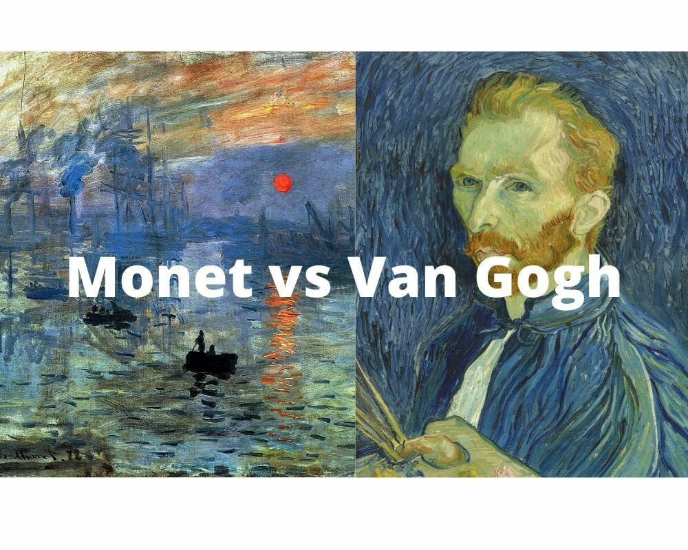 Monet vs Van Gogh - Diferencias y similitudes 1