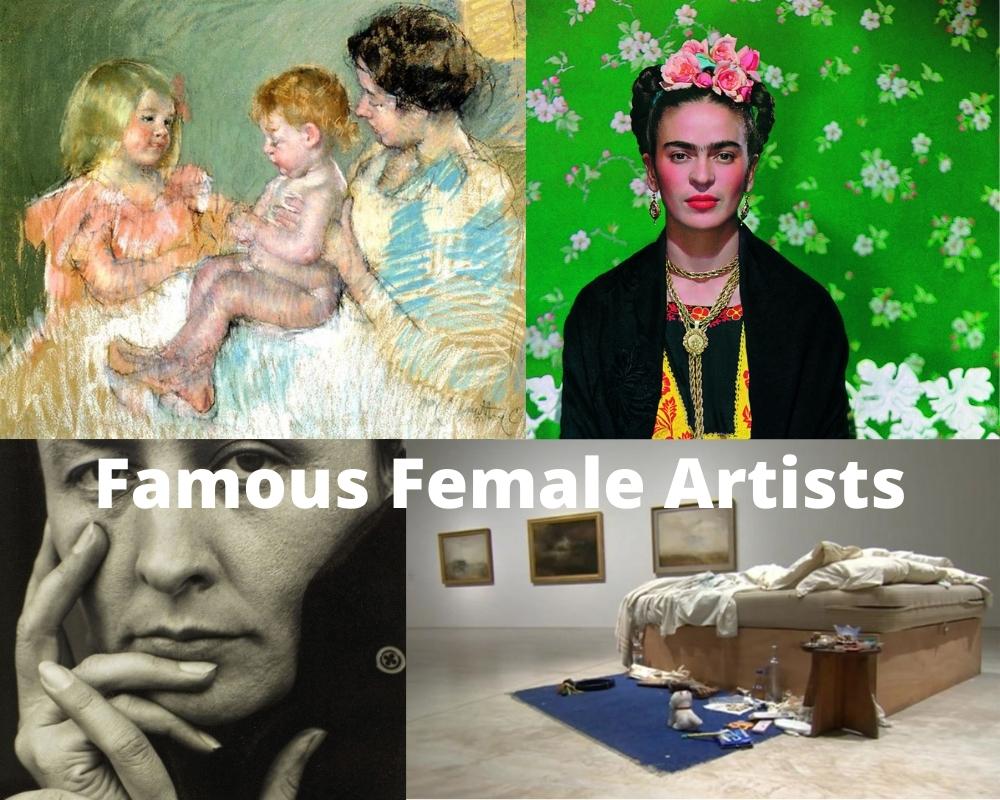 Pintoras y artistas famosas 1